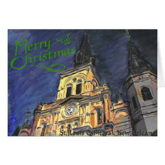 St. Louis Cathedral Christmas Card