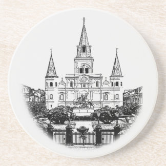St Louis Cathedral Jackson Square New Orleans Coaster