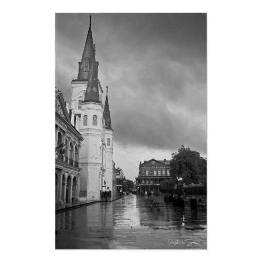 St. Louis Cathedral Jackson Square New Orleans Poster