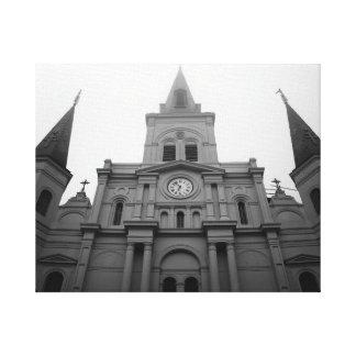 St. Louis Cathedral - New Orleans, LA. Canvas Print