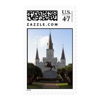 St. Louis Cathedral, New Orleans - Postage