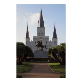 St. Louis Cathedral, New Orleans Poster
