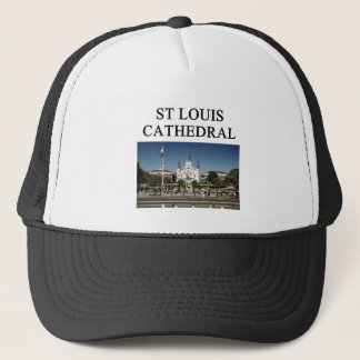 ST LOUIS CATHEDRAL new orleans Trucker Hat