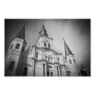 St Louis Cathedral Art Photo