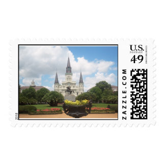 st louis cathedral postage stamp