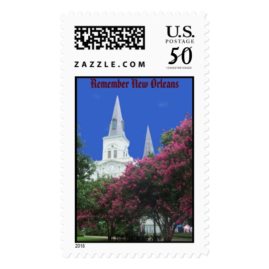St Louis Cathedral Postage