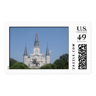 St. Louis Cathedral Stamp