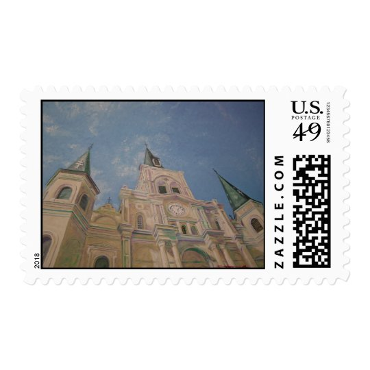 St. Louis Cathedral Postage Stamp