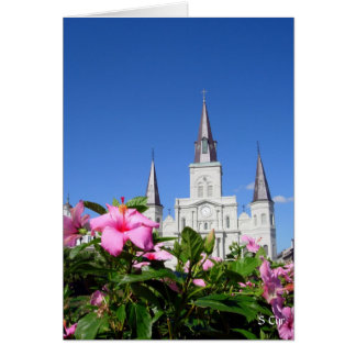St. Louis Cathedral, S Cyr Card