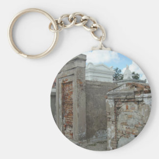 St Louis Cemetery #1  - New Orleans Basic Round Button Keychain