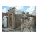 St Louis Cemetery #1  - New Orleans Postcard