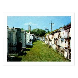 St. Louis Cemetery, New Orleans Vintage Postcard