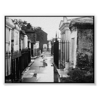 St. Louis Cemetery No. 1 Poster