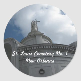 St. Louis Cemetery No. 1 Stickers