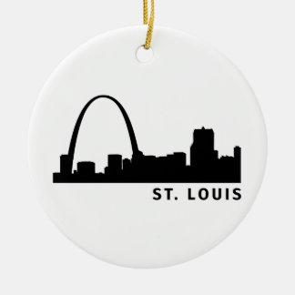 St. Louis Ceramic Ornament