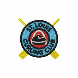 St Louis Curling Club Embroidered t-shirt