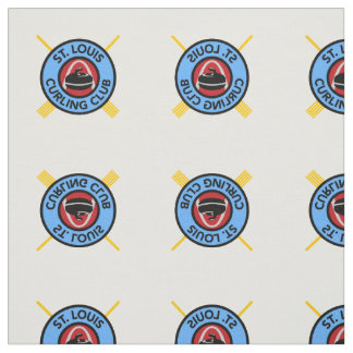 St Louis Curling Club fabric