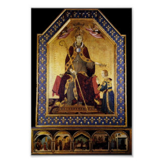 St. Louis de Toulouse coronó su Brother Roberto Poster