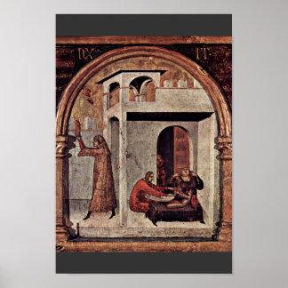 St. Louis de Toulouse coronó su traje de Brother Poster