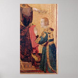 St. Louis de Toulouse que corona a su hermano Impresiones