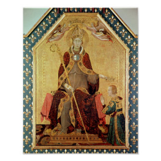 St. Louis de Toulouse que corona a su hermano Posters