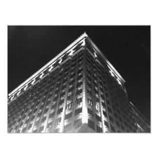 St. Louis en la noche B y W Fotografía