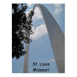 St Louis - entrada al oeste Tarjeta Postal