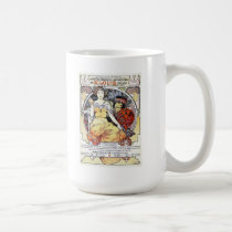 """St. Louis Exposition Art by Mucha"" Mug"
