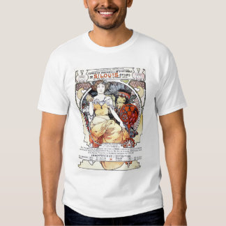 """St. Louis Exposition Art by Mucha""  T-Shirt"
