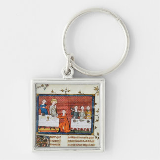 St. Louis Feeding,'Life and Miracles St. Keychain