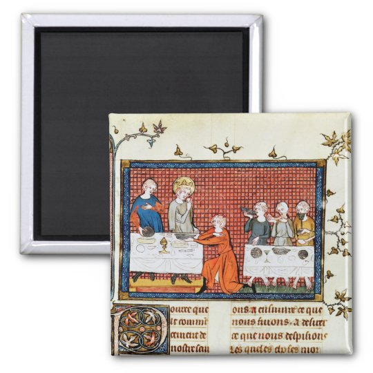 St. Louis Feeding,'Life and Miracles St. Magnet