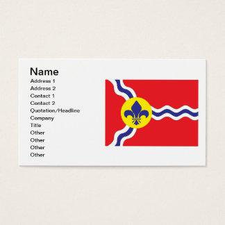 St. Louis flag Business Card