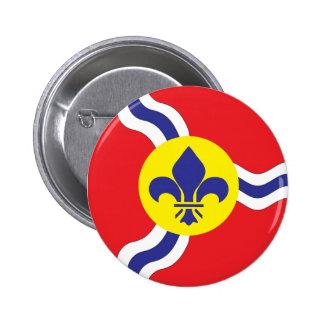 St. Louis flag 2 Inch Round Button