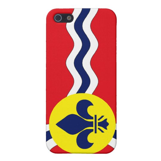 St. Louis Flag Case For iPhone SE/5/5s