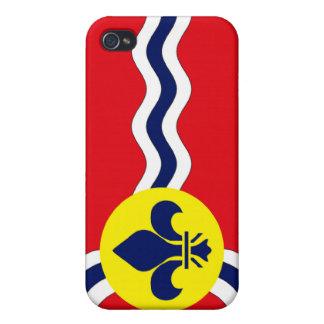 St Louis Flag iPhone 4/4S Case