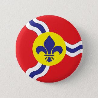 St. Louis flag Pinback Button