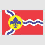 St. Louis flag Rectangle Stickers