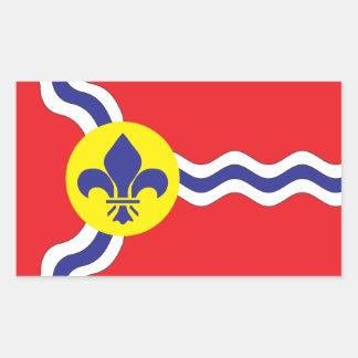St. Louis flag Rectangular Sticker