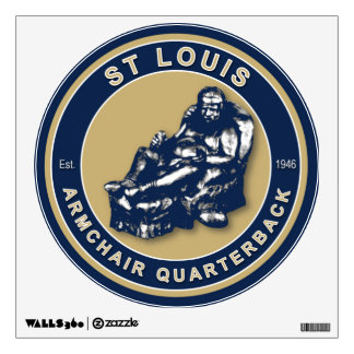 St Louis Football Wall Decal