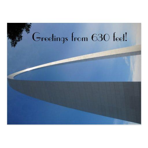 St. Louis Gateway Arch Postcard