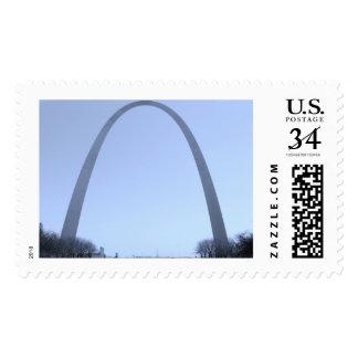 St. Louis Gateway Arch Postcard Stamp