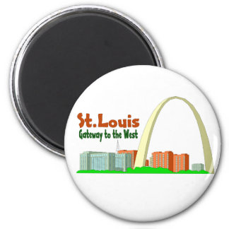 St Louis Gateway to the West Magnet