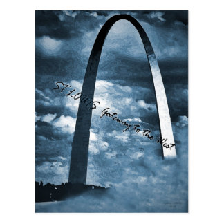 ST LOUIS -Gateway to the West Postcards