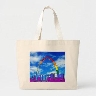 St. Louis GLBT Pride Large Tote Bag