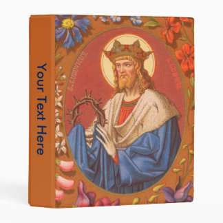 St. Louis IX the King (PM 05) Mini Binder