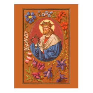 St. Louis IX the King (PM 05) Postcard #1
