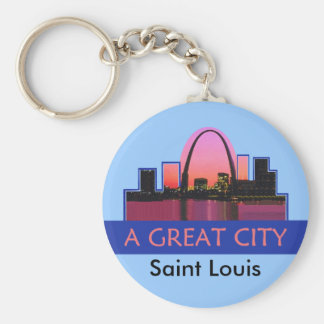 St. Louis Keychain