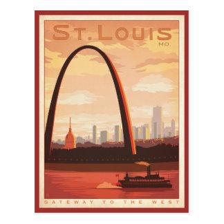 St. Louis, MES Tarjeta Postal