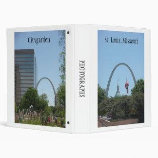 St. Louis Missouri 3 Ring Binder