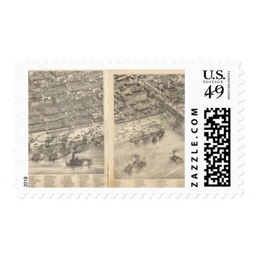 St. Louis, Missouri 3 Stamp